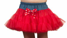 Girls Petti Skirt Tutu w/ Denim (3 Colors Available) (3m - 10)