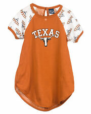 University Of Texas UT Longhorn Short Sleeve Dorm Nightshirt (2T-16)