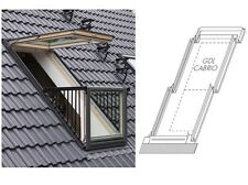VELUX CABRIO Flashings for tiles up to 120mm in profile EDW 0000 SD0U1