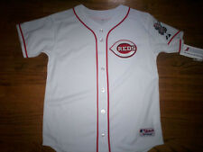 CINCINNATI REDS NEW MLB MAJESTIC AUTHENTIC KIDS GAME JERSEY