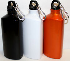 Carry Handle Sport 20 Oz Water Bottle Stainless Steel With Carabiner Keychain