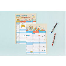 2016 Calendar Wall Planner Daily Schedule Large Size Lovely Wall Sticker 2 color