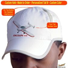 Ercoupe 415C Cap Custom Airplane Pilot Hat - Personalized with Your N#