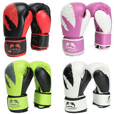Men PU Leather Training Boxing Sandbag Sparring Fighting Fitness Gloves Tactical
