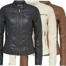 6838 Only START PU Biker Jacket Ladies Look Leather jacket jacket New