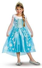 Disney Frozen Deluxe Elsa Costume Child and Toddler sizes by Disguise