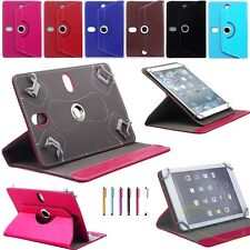 "360° Rotating Folio PU Leather Cover Case Stand For Universal 9.7"" 10.1'' Tablet"