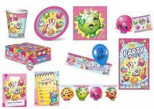 SHOPKINS Birthday Party Tableware Items,Plates,Cups,Napkins,Balloons,Banner,Loot