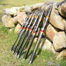 Telescopic Spinning Rod Sea Fishing Pole Fishing Travel Carbon Fiber SZ C5L9