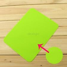 Candy Colors Anti-Slip Laptop Computer PC Mice Pad Mat Mousepad For Mouse