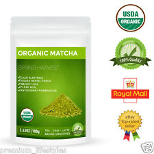 Organic Matcha Green Tea Powder Premium Certified Natural Superfood Weight Loss