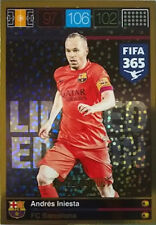 Panini Adrenalyn XL FIFA 365 Trading Card Limited Edition Andres Iniesta