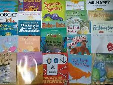 Childrens Reading Library - Mixed Set of 10 Childrens Picture Flats (Re-Sale)