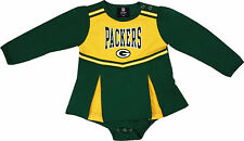 Green Bay Packers Infant Cheerleader Creeper Dress