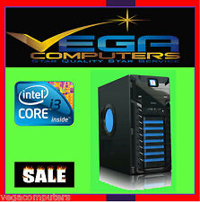 INTEL Pentium Dual Core G4400 - 3.3GHZ DESKTOP 750W PSU Nvidia 1TB HDD, 16GB Ram