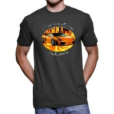 Lamborghini Gallardo Fast And Fierce Men`s Dark T-Shirt