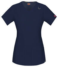 Dickies Scrub Short Sleeve Top 85948A NVWZ Navy Free Shipping