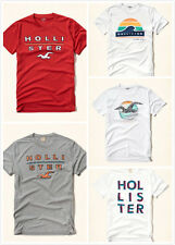 Nwt Hollister By Abercrombie Mens Logo Graphic T-Shirt Tee