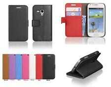Luxury Leather Wallet Card Case Cover For Samsung Galaxy Trend Plus S7580 S7562