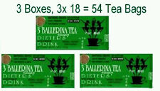 3 Ballerina Tea Dieters Drink (Extra Strength) - 3 Boxes x 18 Tea Bags HH