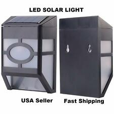 Solar Powered LED Wall Light Waterproof Energy Saving Rechargeable US seller