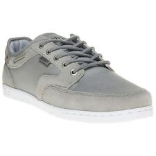 New Mens Etnies Grey Dory Suede Trainers Retro Lace Up