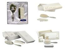 Silverplated Baby Brush and Comb Baby Gift Set