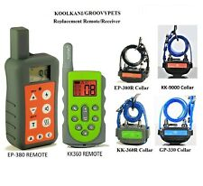 Spare Remote, Receiver etc for Easypet Koolkani Remote Dog Training Collar Fence