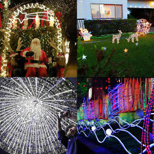 10M 240LED Rope Light In/Outdoor Home 110V Lighting Party Xmas Decoration B2