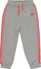 New adidas Baby Infants Girls Jogging Bottoms 3 to 12 months Grey joggers pants