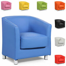 New Luxury Bucket Tub Arm Chair Home Office Study Gaming Chair With Chrome Legs