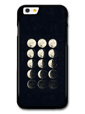 Moon Phases Illustration in Black and White Hand Drawn case for iPhone & Samsung