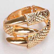 3 Colors Gothic Punk Rock Vintage Eagle Claw 3Talon Bangle Bracelet Clamp Cuff