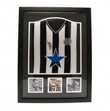 Newcastle United FC Keegan Signed Shirt Framed Football Soccer Memorabilia