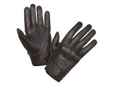 Modeka Hot Classic Motorcycle Leather Gloves black soft anilin Nappa leather