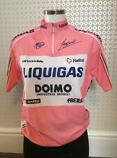 2010 Liquigas Cannondale Giro Leaders Jersey BNWT (L/4)