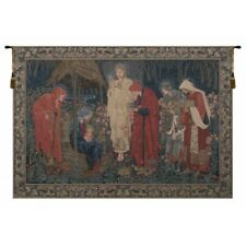 The Adoration of the Magi European Tapestry Wall Hanging