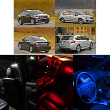 LED Lights Bulb Map Dome License Plate Interior Package for Subaru