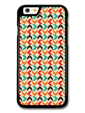 Arrow Pattern Hand Drawn Style with Turquoise Orange case for iPhone & Samsung