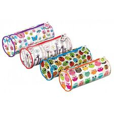 Nature Designs Cylinder Pencil Case - REDUCED TO CLEAR