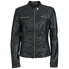 6230 Only Bandit PU Biker Jacket Ladies Look Leather Jacket Jacket black New