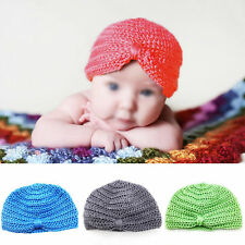 Cute Comfy Baby Girls Boys Infant Toddler Knit Crochet Cap Soft Beanie Hat