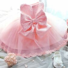 Baby Girl Flower Wedding Birthday Party Pageant Christening Baptism Fancy Dress