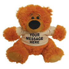Personalised Large Teddy Bear - gift present birthday newborn birthday child New