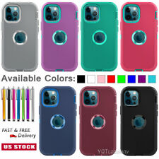 Shockproof Rugged Hybrid Rubber Hard Cover Case For Apple iPhone 6 and 6 Plus 5S