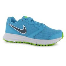 Nike Downshifter 6 Running Shoes Womens Blue/Graphite/Lime Trainers Sneakers