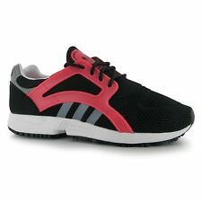 Adidas Racer Lite Fitness Trainers Womens Black/White/Pink Gym Sneakers Shoes