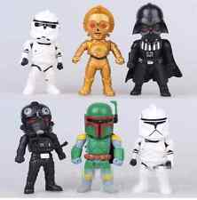 New 6pcs/set Star War 10-11 cm Cartoon PVC Action Figures Collectible Toys