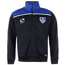Sondico Portsmouth FC Pompey Walk Out Track Jacket Mens Navy Football Soccer