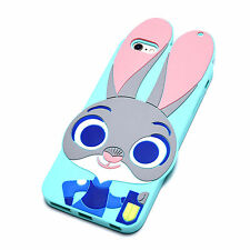 Zootopia Rabbit Judy Bunny Soft Silicone Case iPhone New Mobile Phones Cosplay